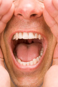 Trapped Woman - DevWebPro  Sleeping With Mouth Open Sore Throat