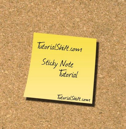 Page Peel / Sticky Note Effect Photoshop Tutorial ...