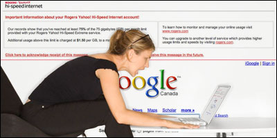 Google Frowns On Rogers Injection