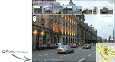 Picasa on Street View