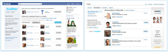 Twitter Wants to Make it Easier to Find Friends with Facebook and Linkedin